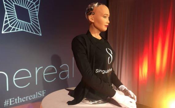 Humanoid Robot Sophia